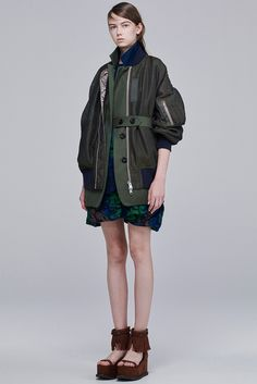 Sacai Resort 2016 - Collection - Gallery - Style.com http://www.style.com/slideshows/fashion-shows/resort-2016/sacai/collection/11