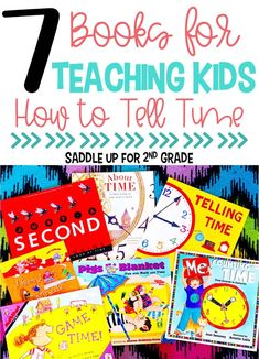 Teaching kids how to tell time can be tricky! Incorporating literature into your math block is a great way to keep students engaged. Here are some great children's books you can use to help teach kids how to tell time. I hope you can find the best book to teach time concepts.