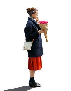 WOOL PLEATED SKIRT|ヒューマンウーマンのレトロな彼女。|CLUÉL(クルーエル)|FEATURE|HUMAN WOMAN [ヒューマンウーマン]