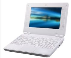 "Amazon.com: white 7"" Mini Notebook Laptop Netbook Android 4.0 4gb Storage 1.2ghz Wifi Windows Hd Solid Black Mini Laptop 7 Inch Netbook Note..."