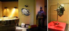 Escritorio da DC Comics em NY - DC Comics Office