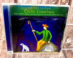 'Tis The Season Celtic Christmas CD 14 Tracks Songs Music 2002 Flutes Whistles