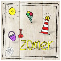 Het complete thema op één pagina | Thema ZOMER Summer Decoration, Sunny Days, Kids Rugs, Camping, Seasons, Cool Stuff, Holiday Decor, Tent, Stage