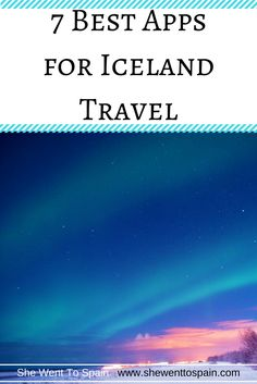After some research and a few trips to the magical land of Iceland myself, I've compiled a list of the best apps for Iceland travel.