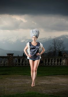 WingedTop Gabrielladeplano Fashion Design - StrCturEs SS 2014