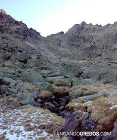 Portilla del Risco de Las Hoces desde Las Lagunillas