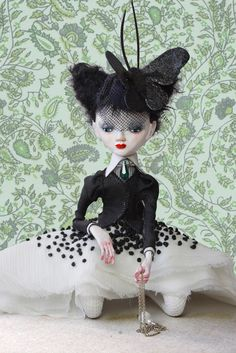 Art doll ESTHERA / Ooak doll / collectible doll / by LadyDOLLS, $488.00