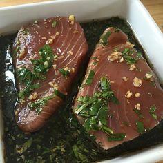 Orange & Soy Marinated Tuna