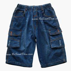 Quần bò ngố size đại và người lớn size S đến XXL, 40kg đến 57kg Quần áo bé trai Quần jean lửng size đại cho bé, hàng VN. Chất vải jean dày vừa phải, mềm mai. Form quần rộng rãi, lưng thun dễ mặc, dễ vận động.