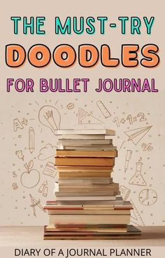 Learn how to draw 100+ bullet journal doodles with this ultimate list of bujo doodle tutorials! #bulletjournaldoodles #doodling #howtodraw Easy Doodles Drawings, Easy Doodle Art, Cool Doodles, Doodle Ideas, Simple Doodles, Bullet Journal Printables, Bullet Journals, Doodle For Beginners, Doodle Quotes