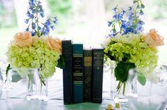Já imaginou os livros como tema do seu casamento?