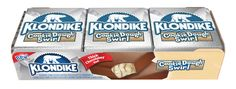 Klondike® Cookie Dough Swirl, featuring cookie dough ice cream with a cookie dough swirl and a thick, chocolatey coating, will be available this April.
