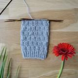 Rikottu joustinneule - 52 sukanvartta Knitted Hats, Socks, Stitch, Knitting, Blog, Coleslaw, Diy, Full Stop, Tricot