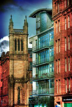 Ingram Street, Merchant City, Glasgow, Scotland
