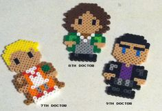 Doctor Who Perler Beads by TriforceInk