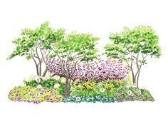 Istutussuunnitelma: helppohoitoinen puutarha | Meillä kotona