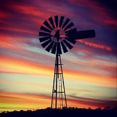 Primarily, these windmills are used for pumping water to the cattle on farms and stations here in Australia.