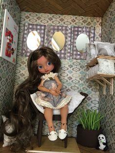 OOAK Asian Inspired MSD BJD Doll Diorama, handmade by me!
