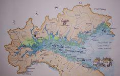 Mare padano al tempo dei Libui=Liguri dal a. in poi, RM 2018 11 10 Italy Map, Fantasy Inspiration, Continents, Geology, Vintage World Maps, Flag, Diagram, History, Knowledge