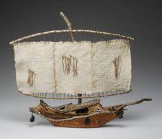handmade sailing vessel @ raphaela mccormack # handmade, ship, vessel, cloth, wood