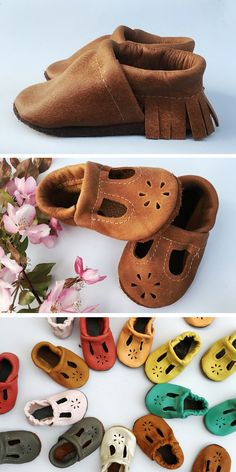 The sweetest little baby moccs ever!