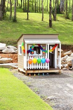 Who wouldn't like a playhouse like this?!