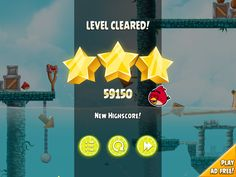 angry birds ui - Google Search