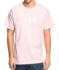 The Bad Dads Club Dad Light Pink T-Shirt