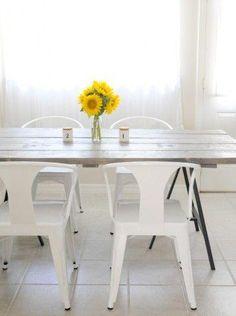 Os enseñamos cómo hacer una mesa con listones de madera para un resultado impecable.