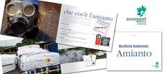 """Ecogest s.r.l. - Catalogo """"Bonifiche Amianto"""". Realizzazione: Agenzia Verde"""