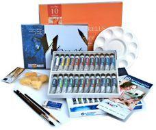 Faber Castell 24 36 48 Couleurs Solide Aquarelle Peinture