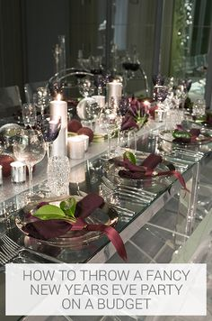 Event Ideas, Party Ideas, Gift Ideas, New Years Eve Decorations, Table Decorations, New Year Table, Wedding Table, Wedding Ideas, Wedding Renewal Vows