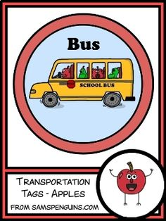 These transportation tags can help you keep dismissal time organized. The set includes a clip chart to post how each student will get home. The set also includes smaller tags that can be attached to backpacks or worn on the child's clothing during the first week of school.