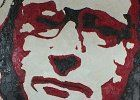 Self Portrait with Glasses, oil on canvas, 2 x 3' 2011