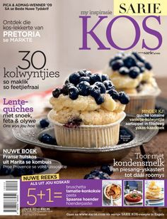 In jou nuutste SARIE KOS - Lente 2010 | SARIE Quiche Lorraine, South African Recipes, Thank You Gifts, Kos, Feta, Cooking Recipes, Cupcakes, Breakfast, Desserts