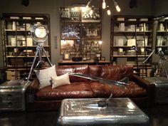 Interior Style Aviation Furniture Restoration Hardware