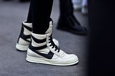 With Paris Fashion Week drawing to a close, we bring you a fresh roundup of sneaker action from the French capital's sartorial extravaganza.