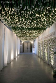 A Tunnel of Tulips Wedding in Montreal | ElegantWedding.ca