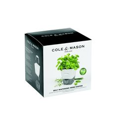 Cole & Mason Self Watering Single Herb Keeper | Prezola - The Wedding Gift List