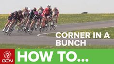 A snappy short vid on how to corner in a bunch.
