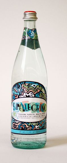 nice redesign of san pellegrino - definitely appeals to a different audience than the current design!