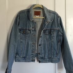 Adorable Jean Jacket made by me! Levi Jean jacket! I made this:) Levi's Jackets & Coats Jean Jackets