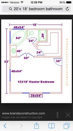 Best Master Bedroom 12X16 Floor Plan With 6X8 Bath And Walk In 640 x 480