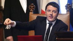 Youthful Matteo Renzi sworn in as Italy's Prime Minister...FEB 22, 2014