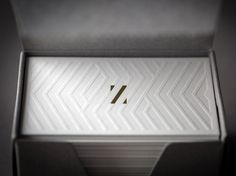 Foil stamp, Letterpress | Zeisner Design Business Cards by Matthias Kronfuss studio