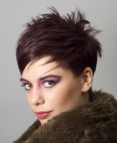 Spiky Choppy Pixie Hair