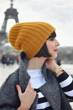 I ♥ Paris Helloitsvalentine streetstyle fashion blog mode Tour Eiffel pencil skirt