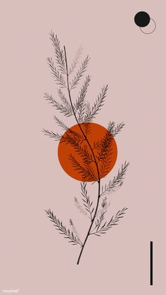 Orange by Sara Gisabella Designs Cute Wallpapers, Wallpaper Backgrounds, Iphone Wallpaper, Drawing Wallpaper, Handy Wallpaper, Vintage Backgrounds, Lines Wallpaper, Screen Wallpaper, Wallpaper Quotes
