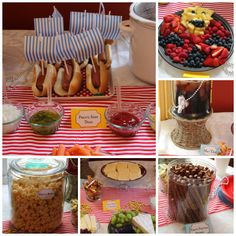 Jake and the Neverland Pirates Birthday Party food