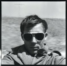 Self Portrait, On the Road to Tijuana - Hunter S. Thompson